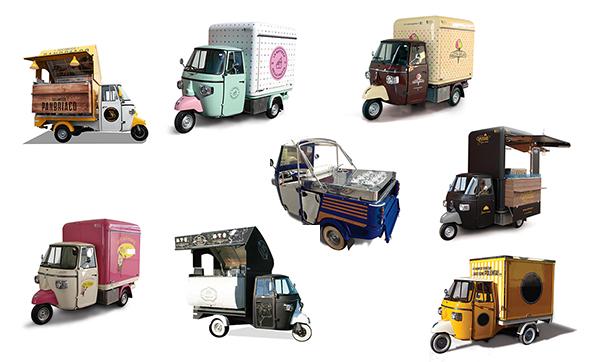 Ape Car Food Truck