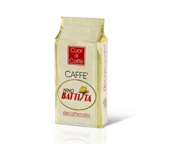Caffè Decaffeinato.Il decaffeinato di nostra produzione.