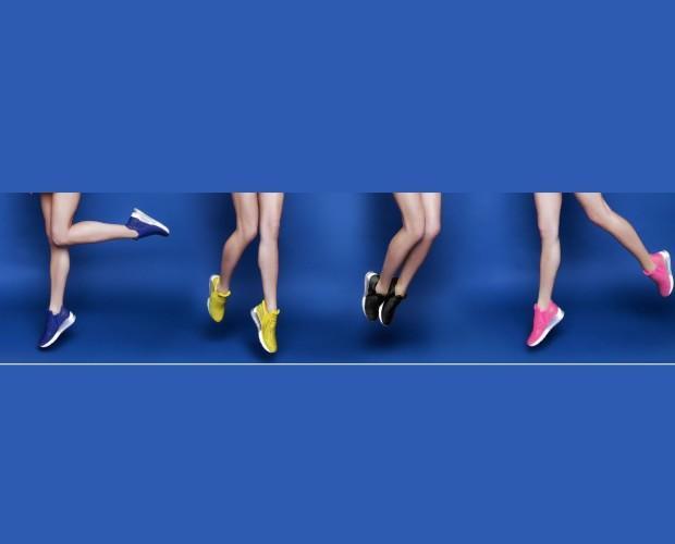 Scarpe da ginnastica. Modelli femminili, leggeri e comodi.