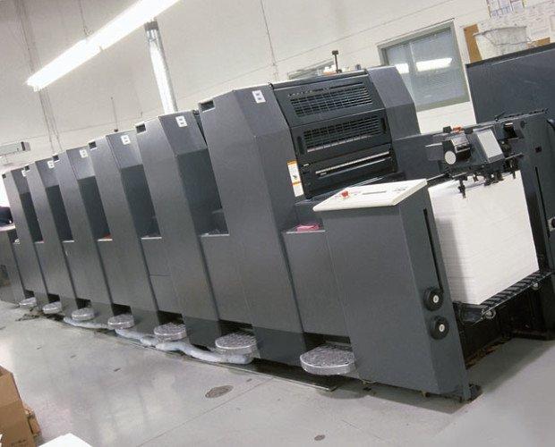 Hidelberg. Uno dei macchinari di produzione di stampafast