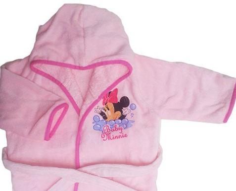 . Accappatoio spugna Baby Minnie