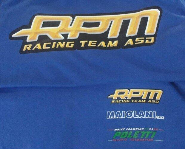 Magliette.t-shirt personalizzate con il logo e sponsor del cliente