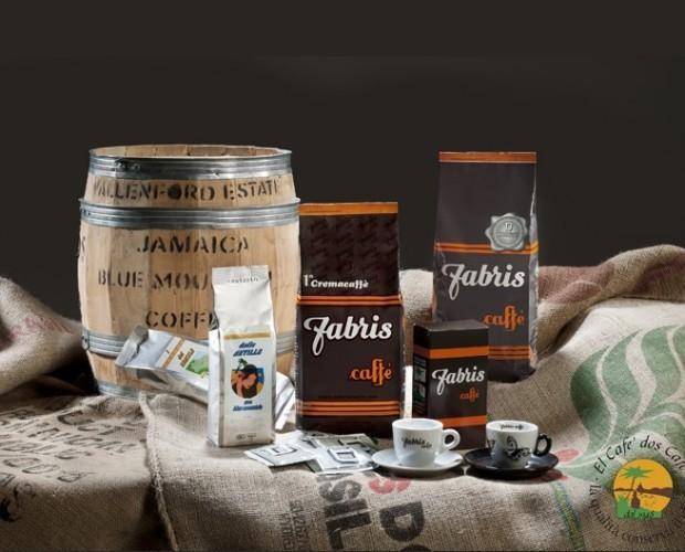Caffè. Assortimento di prodotti Fabris Caffè
