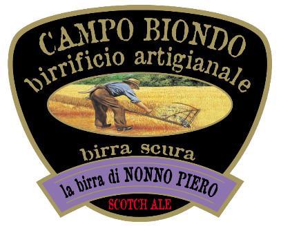 Nonno Piero. Birra artigianale scura.