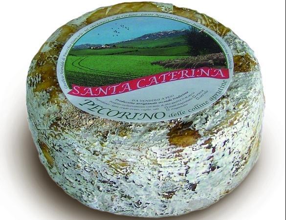 Formaggio.Prodotto dall'azienda agricola Santa Caterina