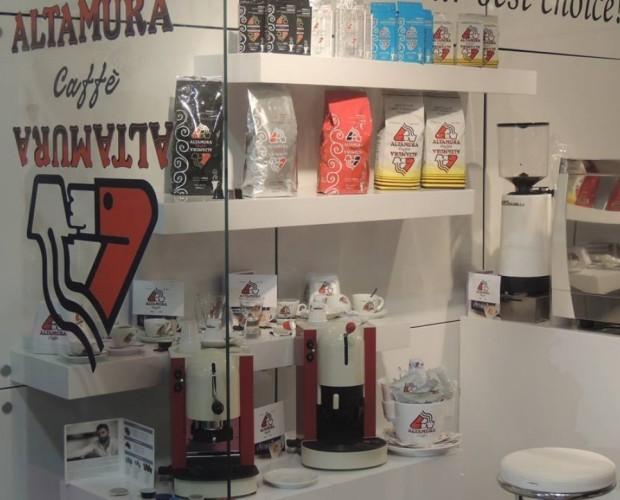 . Assortimento di prodotti  Altamura Caffè