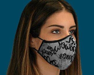 Mascherine tessuto. Le mascherine lavabili PF2-PO9 sono Made in Italy e registrate come Dispositivo Medic