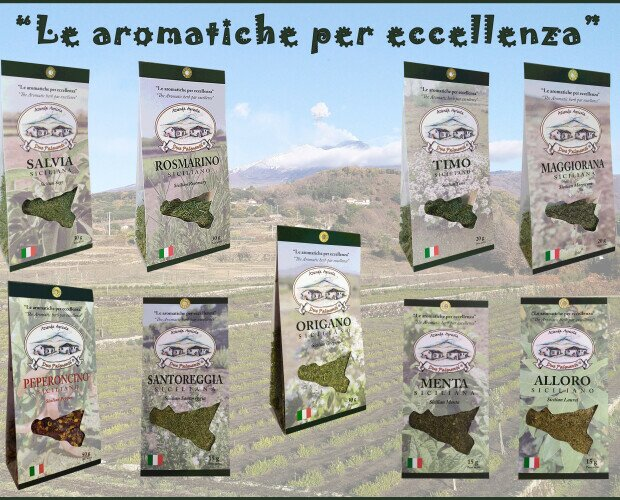 Le aromatiche per eccellenza. Un set completo e variegato di aromi per tutti i gusti e palati