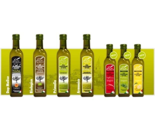 Assortimento Olio d'oliva. Olio d'oliva L'Olio di Colletorto