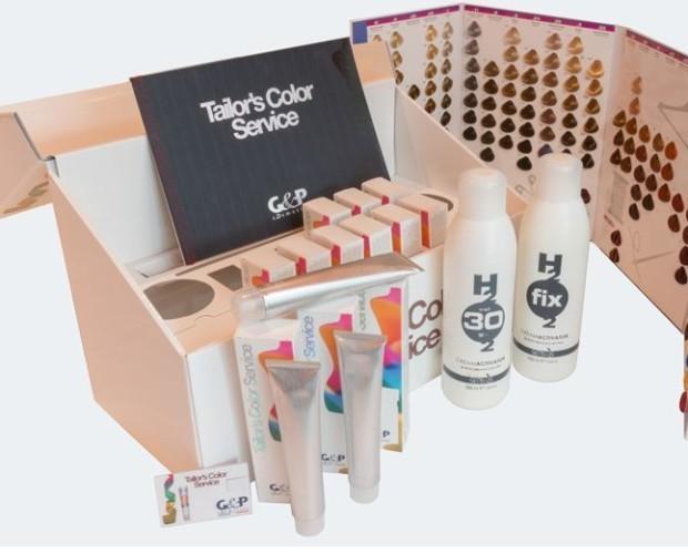 Prodotti per capelli. Kit Prova per uso professionale