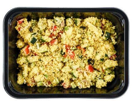 cous cous di verure. Linea primi piatti Cous cous di verdure 200gr pronto da servire