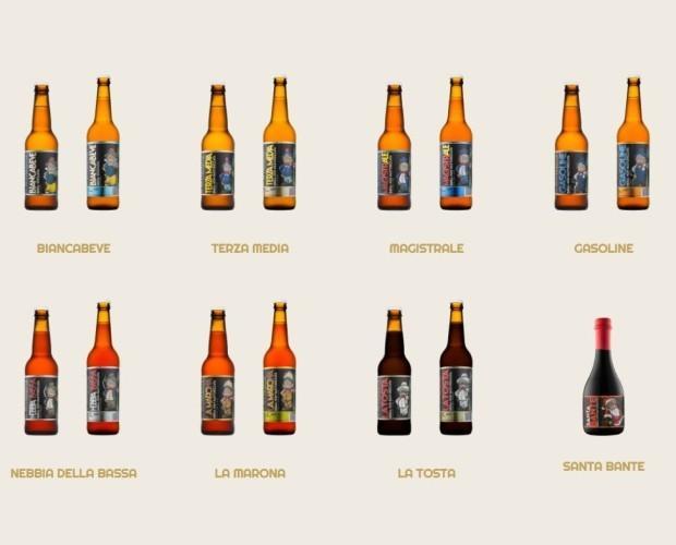 Le nostre birre . Birre artigianali