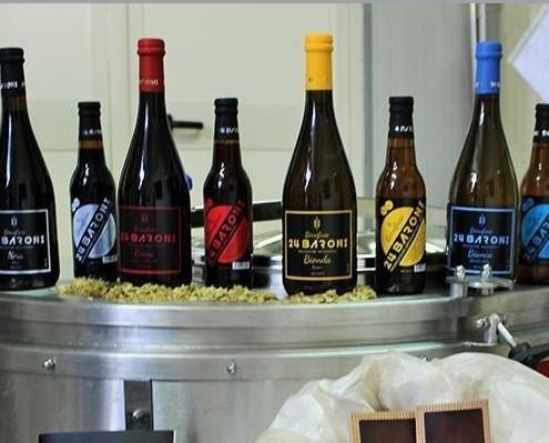 Birra Artigianale.Prodotte con metodo classico