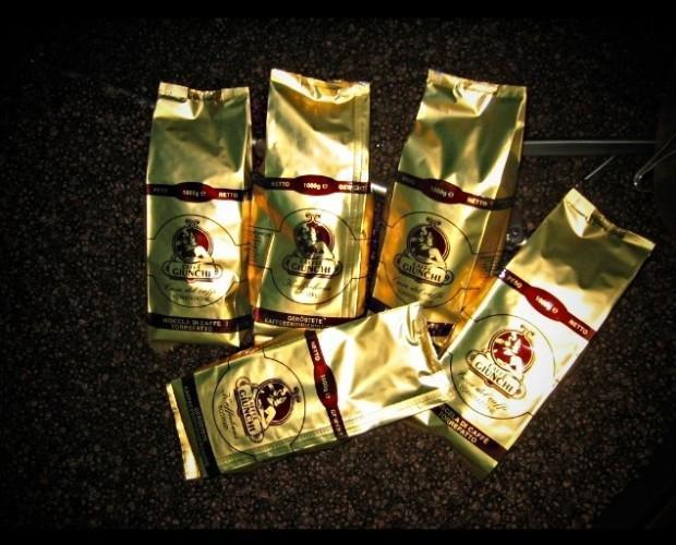 . Miscela di caffè in grani Giunchi