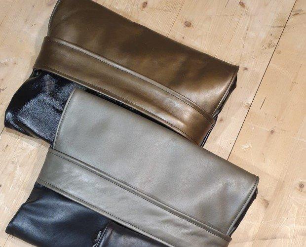 Violet bag. Violet Bag Borsa Zaino Pelle