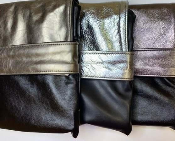 Violet bag. Violet bag Oro-Argento-malva