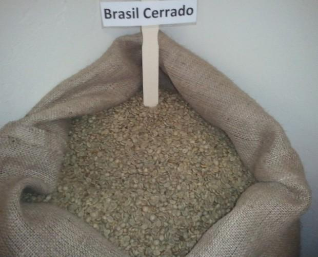 Caffè Verde.Caffè cerrado dulce ,Minas Gerais ,Brasil