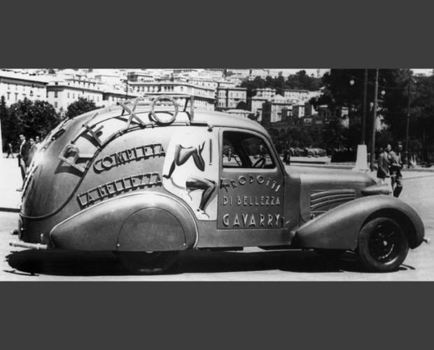 Gavarry Car. Foto storica dell'azienda.