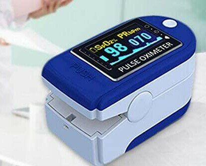 Pulsoximetro. PULSOXIMETRO PER LA MISURAZIONE DELLA SATURAZIONE DI OSSIGENO E DELLA FREQUENZA CARDI
