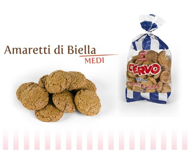 Biscotti. Amaretti di Biella