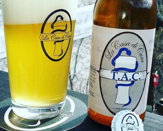 TAC . Birra Artigianale Saison bionda.
