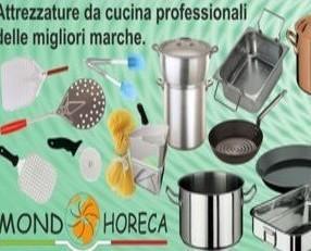Attrezzature Professionale. Pentolame ed accessori per Horeca.