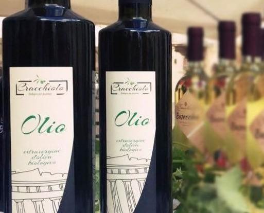 Olio extravergine di oliva. Produzione biologica