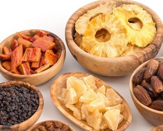 Frutta disidratata. Prodotti di qualità