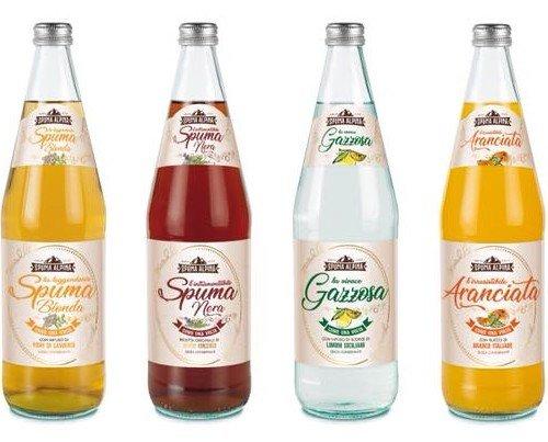 Bibite artigianali. Bibite artigianali Fava, bottiglie da 0.75 cartone da 6 e da 0.250 cartone da 12 pezzi.
