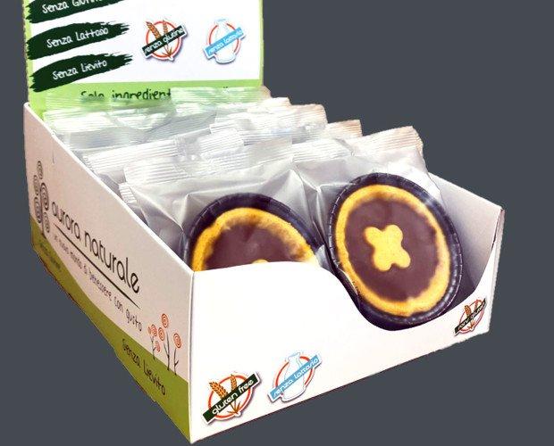 Espositore-Crostatina-Crema-Cacao_lato-1. Espositore crostatine al cioccolato senza glutine e senza lattosio