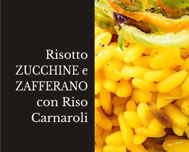 Risotto Zucchine e Zafferano.
