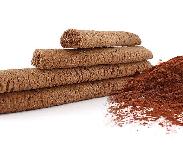 Bastoncini al cacao. Bastoncini al cacao