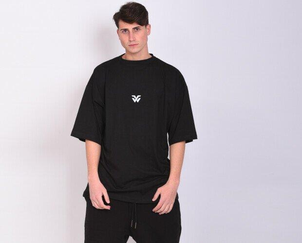 Oversize. Tshirt oversize 100 %cotone jersey a filo lungo pettinato .Made in ITALY