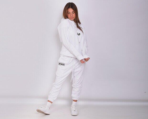 Tuta 100% cotone. Tuta 100% cotone jersey pettinato a filo lungo , Made in Italy