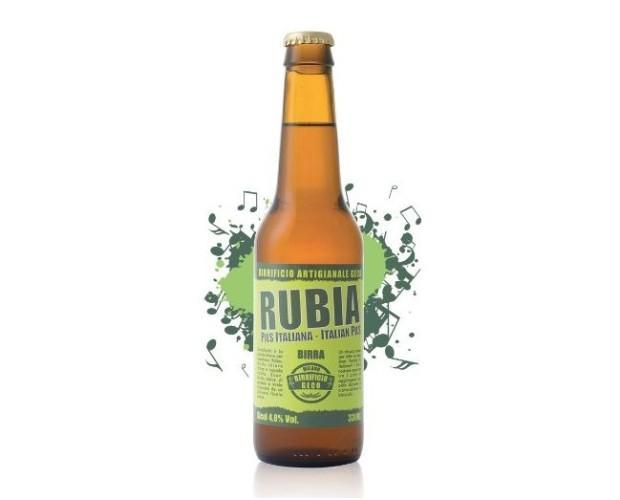 Rubia. Birra chiara