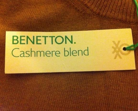 Stock grandi firme. Pullover Benetton Uomo