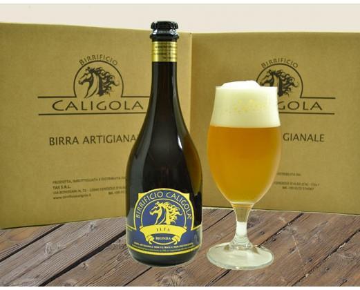 Ilia. Birra chiara aromatizzata ai fiori d'arancio