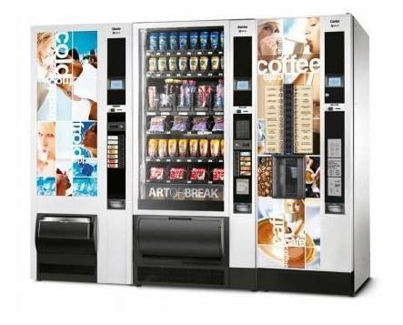 Noleggio Macchine vending.Distributori Multiprodotti per aziende