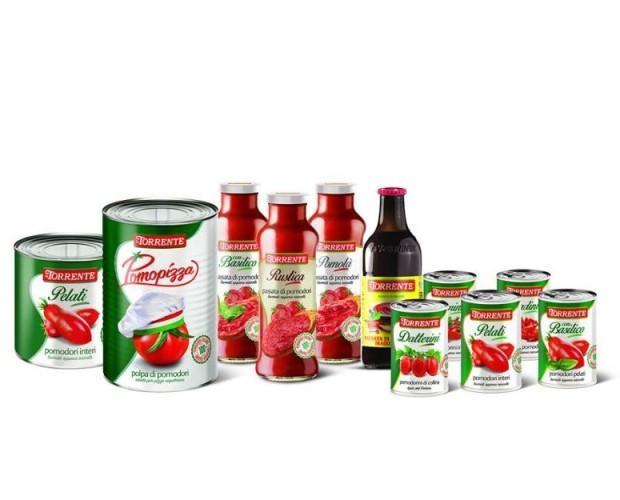 Conserve di Pomodori. Gamma completa di conserve a base di pomodoro