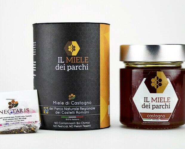 Miele di Castagno. Miele di CASTAGNO del Parco Naturale Regionale dei Castelli Romani