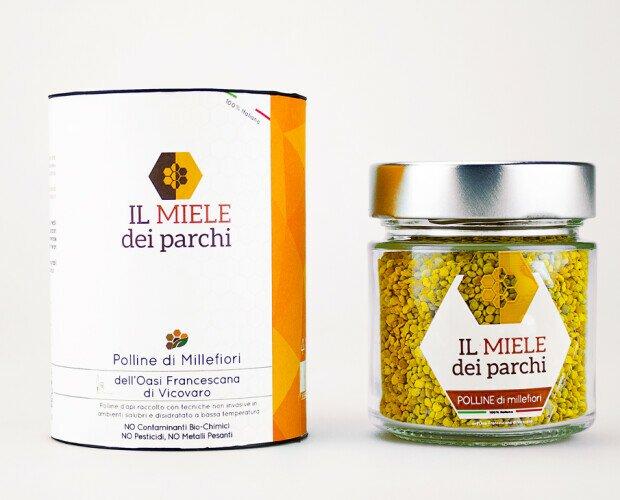 Polline di Millefiori Vicovaro. Polline di MILLEFIORI dell'Oasi Francescana di Vicovaro