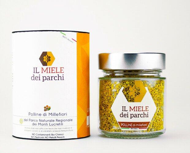 Polline Millefiori Lucretili. Polline di MILLEFIORI del Parco Naturale Regionale dei Monti Lucretili