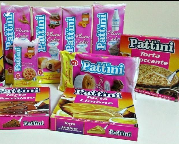 . Assortimento prodotti Dolci Pattini