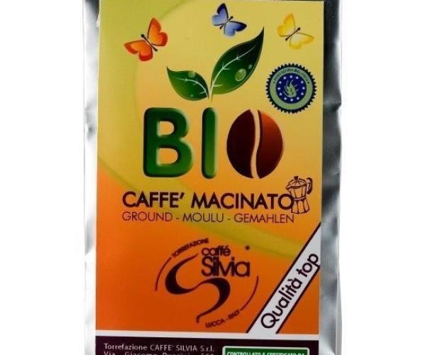 Macinato Bio. Miscela macinato Biologico Caffè Silvia