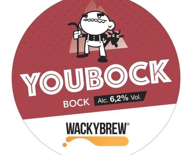 YouBock. Una birra artigianale Bock, ALC 6,2% VOL.