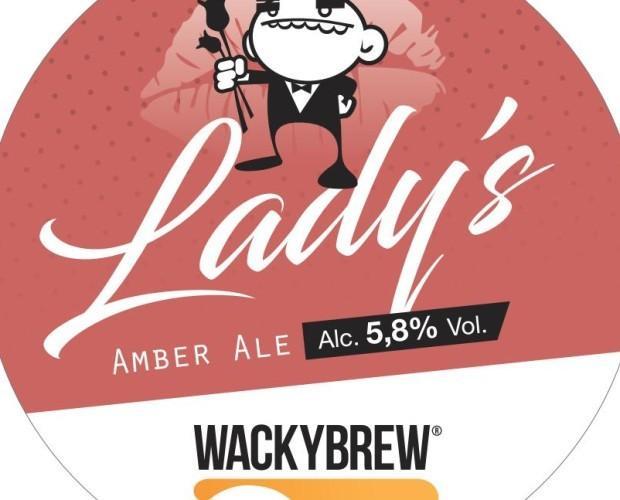Lady's. Una Amber Ale - ALC 5,8% VOL.