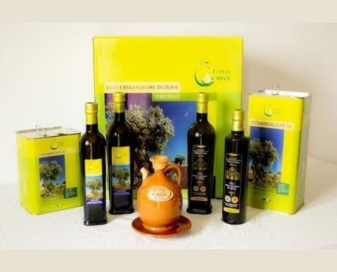 . Assortimento prodotti Terra di Olivi