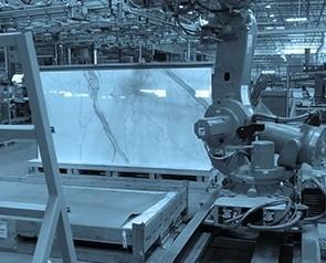 Macchinari per la Lavorazione della Ceramica.Applicazione robotiche.