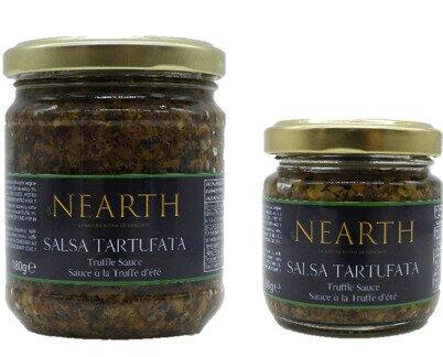 Salse Tartufate. La più classica delle salse, La Tartufata, profumo inconfondibile e gusto deciso.