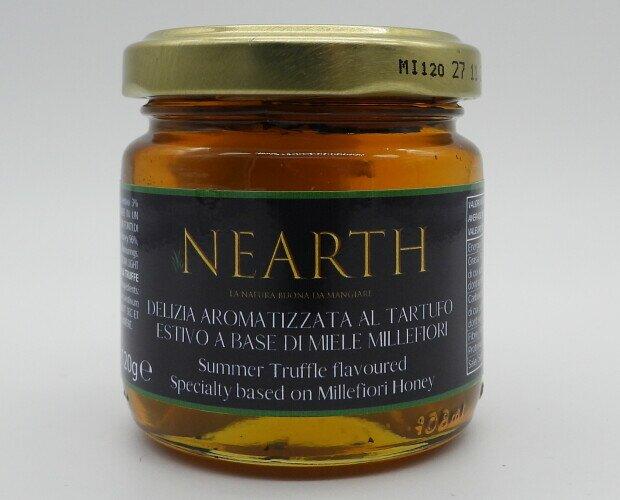 Miele al Tartufo. Miele aromatizzato al tartufo. Uno dei prodotti più venduti della linea NEARTH